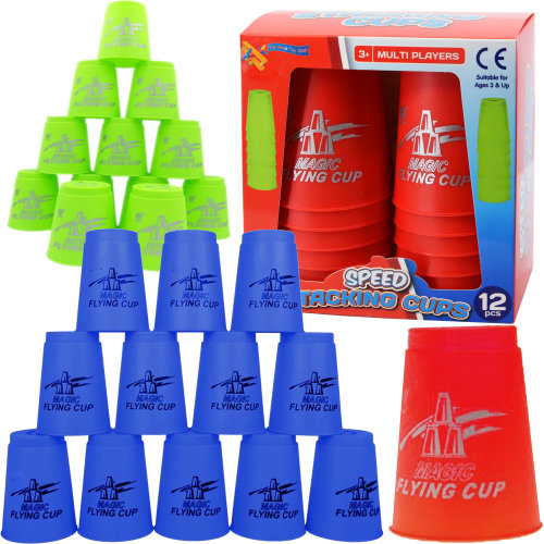 Set of 12 Speed Stacking Cups