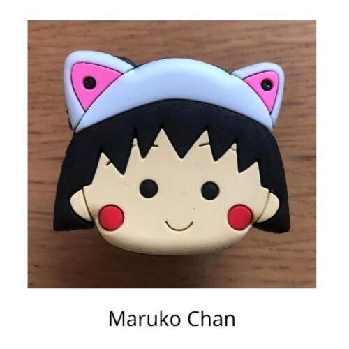 (Maruko Chan) mobile phone holder Socket Finger grip Stand UK