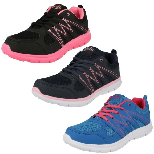 Ladies Air Tech Casual Trainers Sabre