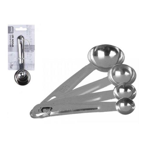 4pc Stainless Steel Measuring Spoons Baking Set