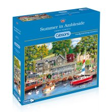 Gibsons Summer in Ambleside Jigsaw Puzzle, 1000 piece