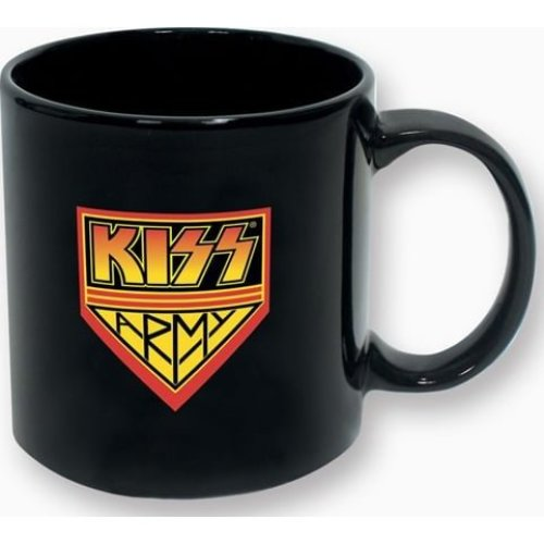 Mug - KISS - Army You Can Kiss My KISS Loving Ass 20oz New 30852