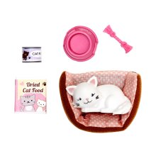 Lottie Doll Accessory Pandora the Persian Cat Set Doll| Best fun gift for empowering kids ages 3 & up
