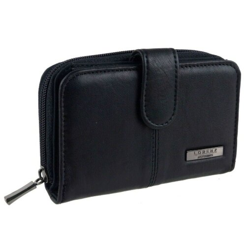 Ladies Purse with Built in RFID Protection in Genuine Leather by Lorenz 1225