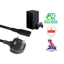 Brand New Replacement Power Cable Lead For Xbox Series X Console UK