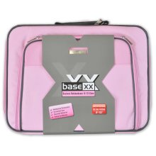 Dicota Base XX 15 -17 Inch Large Laptop Case Bag Shoulder Strap Pink