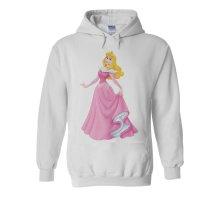 Princess Sleeping Beauty Aurora White Men Women Unisex Hooded Sweatshirt Hoodie