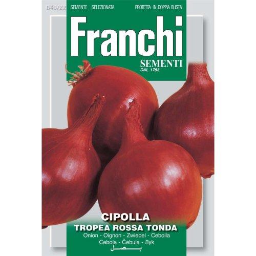 Franchi Seeds of Italy - DBO 43/22 - Onion - Tropea Rossa Tonda - Seeds