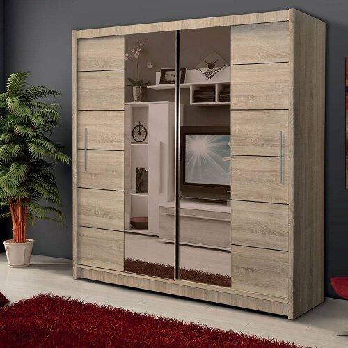 Modern and Elegant Sliding Door Wardrobe LIZBONA 2