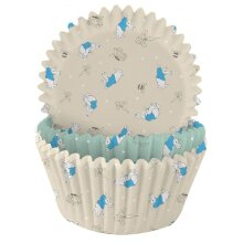75 Peter Rabbit Cupcake Cases, Easter Party Cupcake Wrappers, Baking Cups, Christening Baptism Cupcake Cases, Party, Baby Shower Party