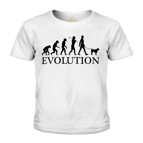 Candymix - Chinese Shar Pei Evolution - Unisex Kid's T-Shirt