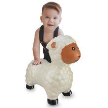Jamara Bouncing Animal Sheep with Pump White Ride-on Animal Toy Children Gift
