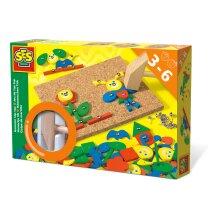 SES Creative Children's Hammer Tap Tap Fantasy Motor Skills Toy