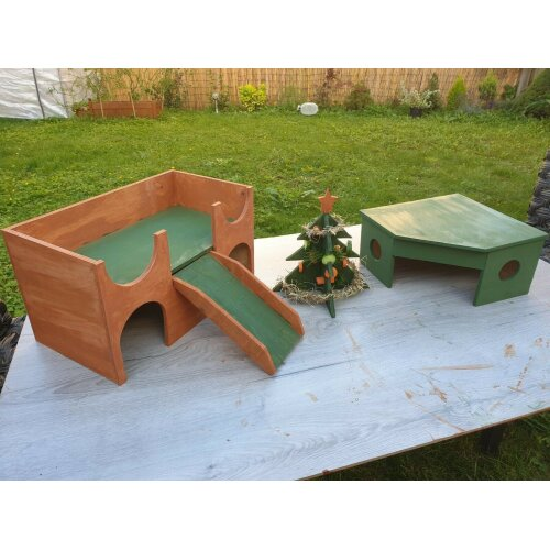 GUINEA PIG PLAY HOUSE CHRISTMAS PERFECT GIFT