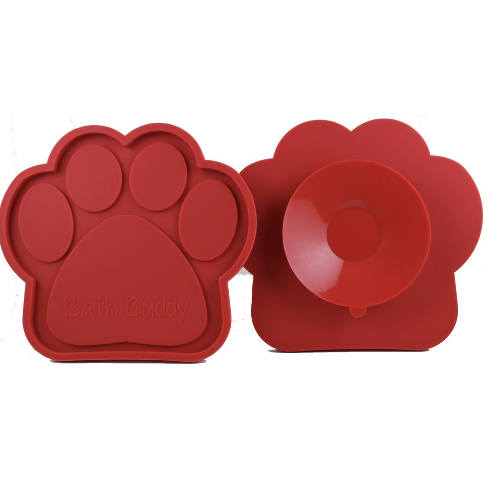 K9 Bath Buddy for Dogs The Ultimate Dog Bath Toy Makes Bath Time Easy, Just Spread Peanut Butter and Stick Featured on USA Today