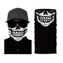 SKULL FACE MASK RUFFNEK Multi Sport scarf/snood - Men/Women/Children