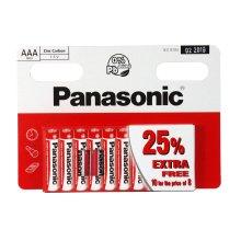Panasonic Zinc Carbon AAA Batteries