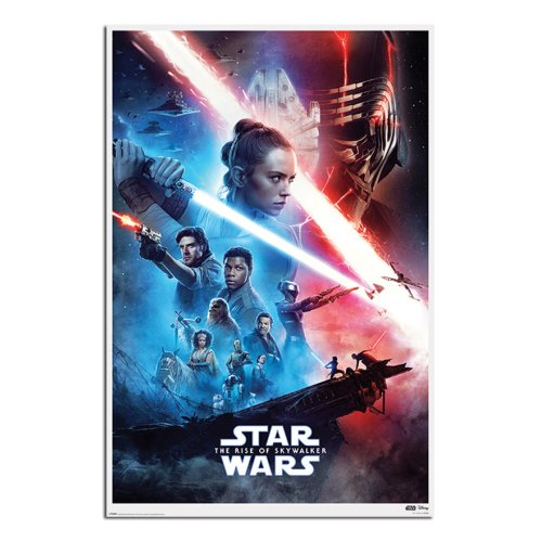 Star Wars Rise Of Skywalker Saga Poster Maxi - 91.5 x 61cms (36 x 24 Inches)