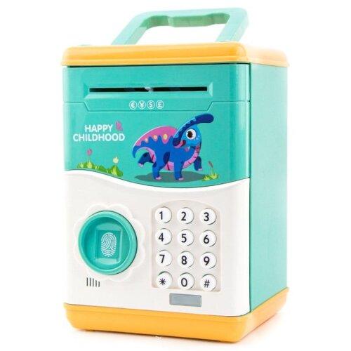 Electronic Piggy Bank Mini ATM Coin Money Saving Box for Children Toys- Automatic Fingerprint Open