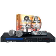 VOCAL-STAR VS-600 KARAOKE MACHINE WITH 2 MICROPHONES & 150 PARTY SONGS