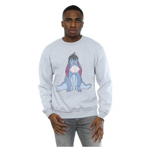 Disney Men's Winnie The Pooh Classic Eeyore Sweatshirt