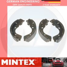 FOR NISSAN NAVARA 2.5 3.0 DCi (D40) REAR HAND BRAKE SHOES SET MINTEX 2005-2010