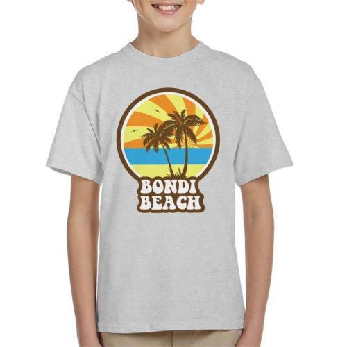 Bondi Beach Retro Sunset Kid's T-Shirt