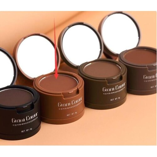 (A03 Light Brown) Hair Powder Instantly Concealer Black Root, Cover Up Natural Instant Coverage Hair Line Shadow