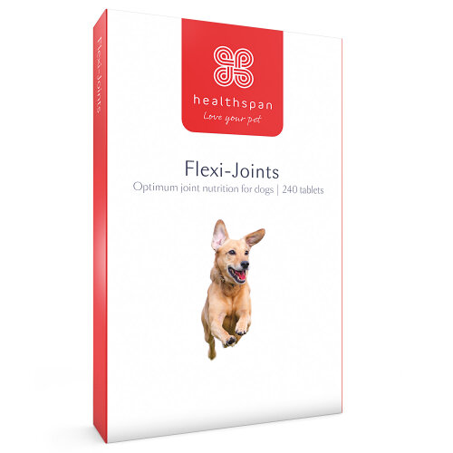 (240 Tablets) Dog Supplements | Flexi-Joints | Healthspan