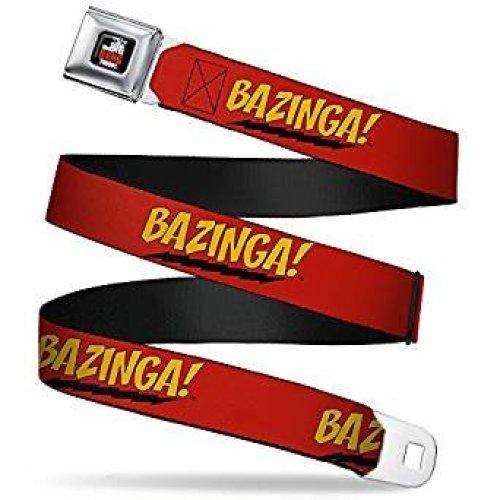 Seatbelt Belt - The Big Bang Theory - V.1 Adj 24-38' Mesh New bbta-wbbt001