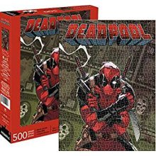 Puzzle - Marvel - Deadpool Cover 500pc New Licensed 62162