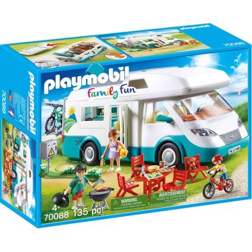 Playmobil 70088 Family Fun Caravan Camper 135PC Playset
