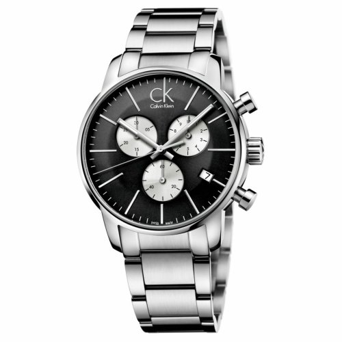 Calvin Klein City Chronograph Black Dial Men's Watch K2G2714X
