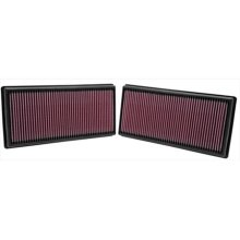K and N 33-2446 Replacement Air Filter Land Rover Range Rover 5.0L V8&, 2010 2 Per Box