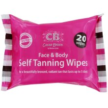 Cocoa Brown Face & Body Self Tanning Wipes