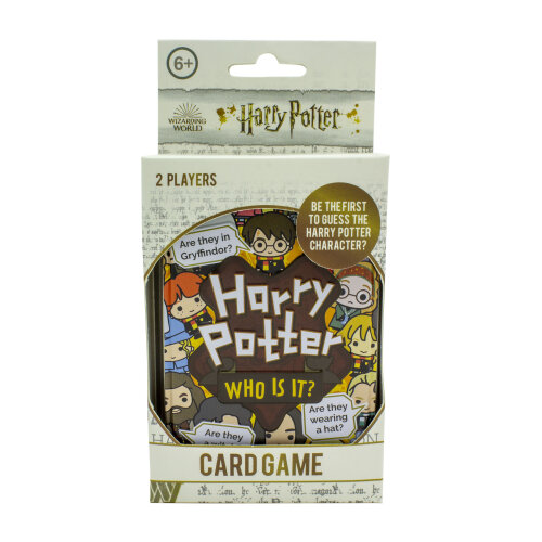 Harry Potter Who Is It Licensed Guessing Card Game 2 Players