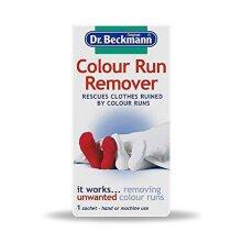 2 x Dr Beckmann Colour Run Remover 1pk - 75g