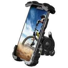 Lamicall Bike Phone Holder - Universal Adjustable Motorbike Phone Holder, Motorcycle Phone Mount Stand for Phone 11 Pro, Pro Max Xs XR 8 X 8P 7 7P 6