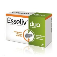 Esseliv Duo 40 cap CARE FOR LIVER AS ESSENTIALE FORTE AFLOFARM