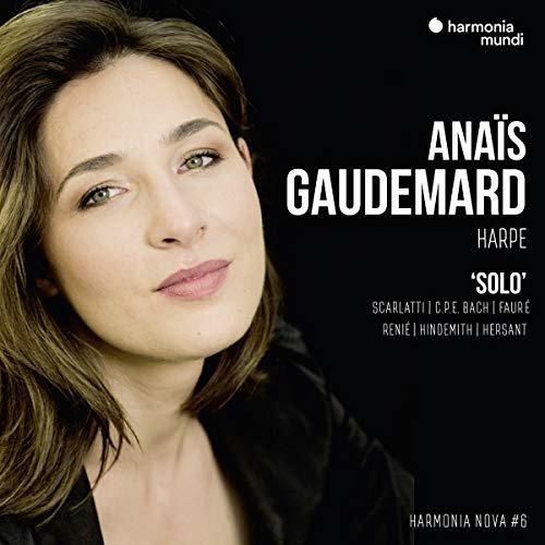 ANAIS GAUDEMARD - ANAIS GAUDEMARD: SOLO - HARMONIA NOVA #6 [CD]