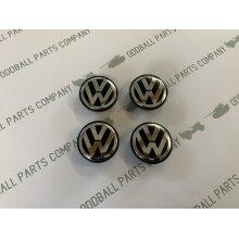 Volkswagen VW 65mm Alloy Wheel Centre Cap Set of 4 Replacement Part