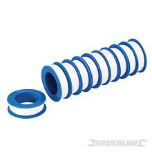 12mm White PTFE Pipe Thread Seal Tape (10 Pack)