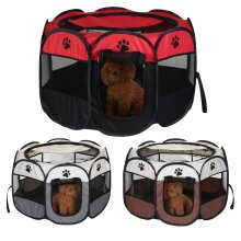 Large Soft Foldable Pet Cage Puppy Playpen