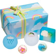 Bomb Cosmetics Right as Rain Handmade Wrapped Bath and Body Gift Pack, Contains 5-Pieces, 480 g