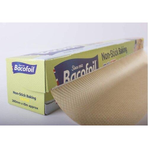 Bacofoil Non-Stick Baking Paper, High Quality, Versatile, 38cm x 10m