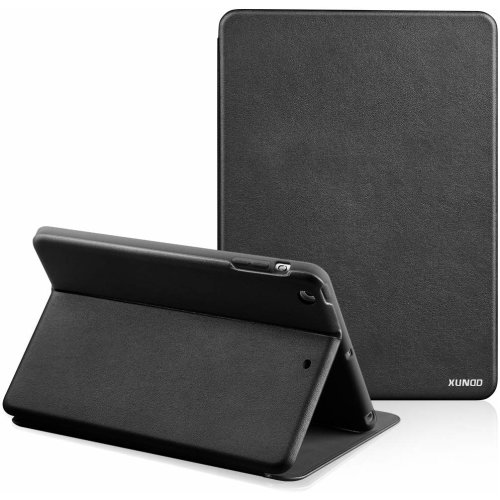 For iPad Pro 10.5 / Air 3 - Xundd Black PU Leather Shock Flip Case