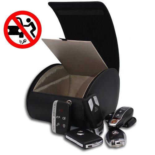 RFID Anti Theft Signal Blocking Keyless Car Key Holder Box - CEG-90