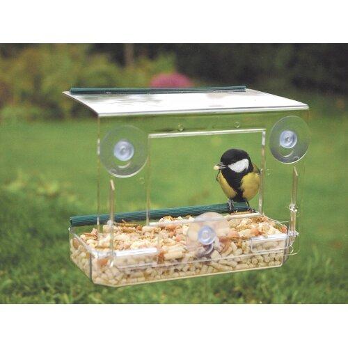 Window mounted feeder