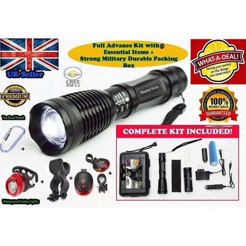 Super Powerful and Bright LED Flashlight JML Tough Max Torch