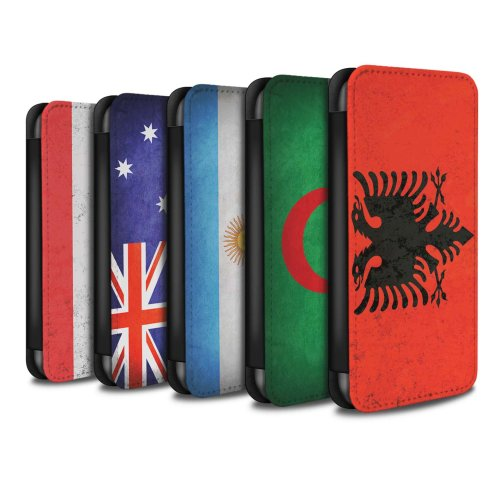 Flags Samsung Galaxy A10 2019 Phone Case Wallet Flip Faux PU Leather Cover for Samsung Galaxy A10 2019